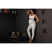 CACHE-CoeUR Leggings de Maternité Illusion Ivoires