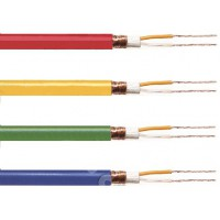 Tasker microphone cable 2 x 0.25 mm² on reel 100 m