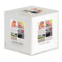 Cadre photo cube cristal Bea 9x9 cm - Ceanothe, marque française