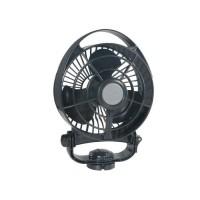 CAFRAMO Ventilateur de Cabine Bora - 12V - Noir - 3 Vitesses
