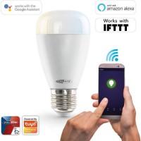 CALIBER HWL2201 Ampoule LED intelligente E27 blanc froid a blanc chaud contrôlée par App.