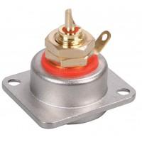 Neutrik NF2D RCA socket red