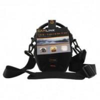 CAMLINK CL-CB30 Sac Bandouliere pour Camera 128 x 133 x 70 mm - Noir/Orange
