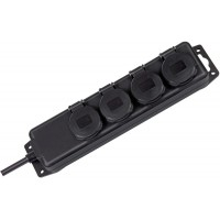 Brennenstuhl power strip 4 socket IP44