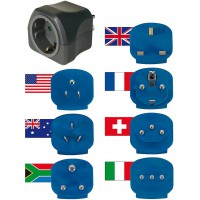 Brennenstuhl universal travel adapter