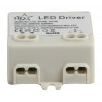 HQ Led driver constant current 350 mAh max 3x1 W