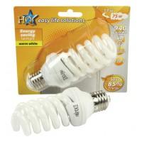 HQ ampoule à économie d'énergie E27 15W spirale