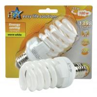 HQ ampoule à économie d'énergie E27 21W spirale