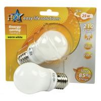 HQ ampoule à économie d'énergie E27 5W GLS