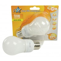 HQ Energy Saving Lamp GLS E27 12W