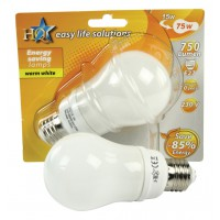 HQ Energy Saving Lamp GLS E27 15W