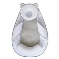 CANDIDE Cale tete Panda Pad Air+ - Blanc et gris