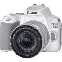 CANON 250D Appareil photo Reflex + Objectif 18-55 IS STM - Blanc