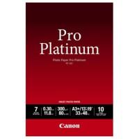 CANON Pack de 1 Papier photo pro platinum 300g/m2 - PT-101 - A3+ - 10 feuilles