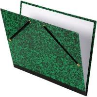 CANSON Carton a dessin studio Annonay - 2 élastiques - 26 x 33 cm - Vert