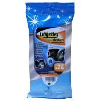 Carlinéa 24 Lingettes pour plastiques