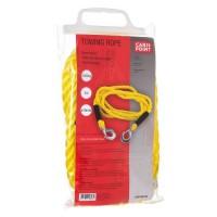 CARPOINT Câble de remorquage 0178703 + crochets de sécurité - 3m x 18 mm - 5000kg