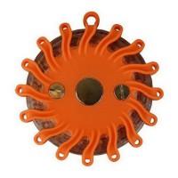 CARPONIT Balise clignotante de secours magnétique - 16 LED 360° - Orange