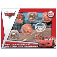 CARS Crée tes Boules de Noël - Kit de Loisirs Créatifs