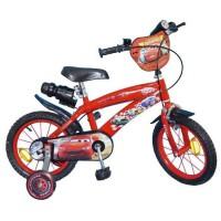 """CARS Vélo Enfant - 14"""" -4/7 ans- Rouge"""