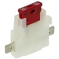 CARTEC 2 porte-fusible + fusibles enfichables 10A