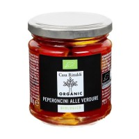 CASA RINALDI Piment farci aux légumes bio - 180 g
