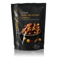 CASINO DELICES Mélange Fruits du verger & Graines - 120g