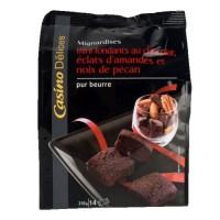 CASINO DELICES Mini fondants au chocolat - 210g