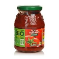 CASINO Pulpe de tomate basilic - Bio - 400g