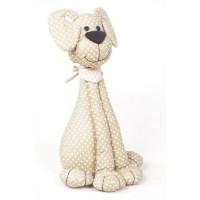 CASITA Bloque porte chien a pois - 18 x 33x 13cm