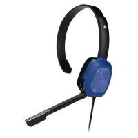 Casque Afterglow Chat LVL1 Camo Bleue pour PS4