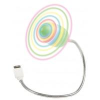 Fixapart ventilateur USB avec LED colorées