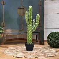 CATRAL Cactus artificiel Saguaro - 82 cm