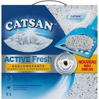 CATSAN Active Fresh - Litiere - Pour chat - 5 L