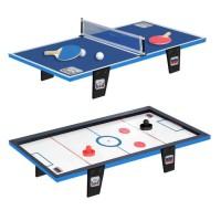 CDTS Table de ping-pong + Table de hockey - 81 x 40 cm
