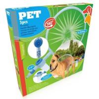 Cerceau de lavage pour 360° - En ABS et avec distributeur de savon - Pour chien