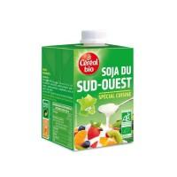 CEREAL BIO Creme de soja du Sud Ouest cuisiné Bio - 3x 20 cl