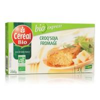 CEREAL BIO Croq'Soja a base de tofu et de fromage Bio - 200 g