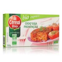 CEREAL BIO Croq'soja Provençale spécialité végétale a base de tofu Bio - 200 g