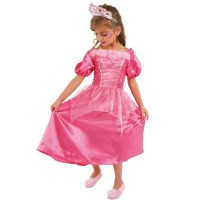 CESAR - B432 - Robe princesse Rose - 8 / 10 ans