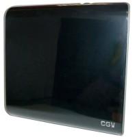 CGV 11532 Antenne d'intérieur - An-TNT CE Red TNT HD - Filtre 4G - Slim design - Noir laqué