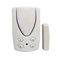 CHACON Alarme détecteur d'ouverture porte fenetre avec code et contacteur magnétique