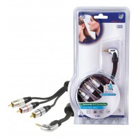 CABLE AUDIO/VIDEO HAUTE QUALITE - 1.5m