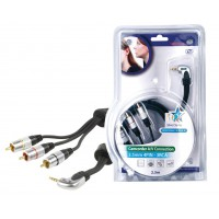 CABLE AUDIO/VIDEO HAUTE QUALITE - 2.5m