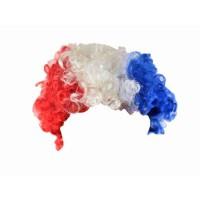 CHRONOSPORT Perruque frisée supporter France