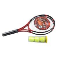 CHRONOSPORT Set de Tennis Loisirs 2 Raquettes + 3 Balles + 1 Housse de Transport