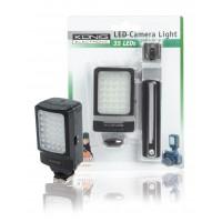 König lumière à LED pour appareil-photo