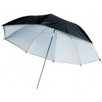 "König parapluie 36"" noir/blanc"