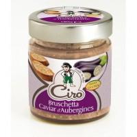 CIRO Bruschetta caviar d'aubergines sans gluten - 180 g