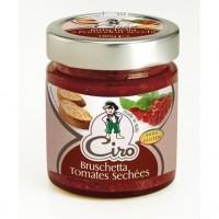 CIRO Bruschetta Tomates séchées sans gluten - 180 g